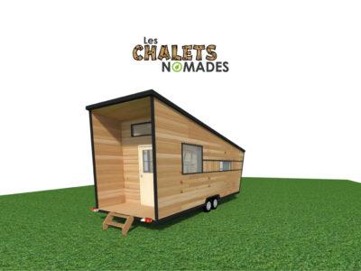 Tiny House Atelier / Bureau : vue exterieure v3