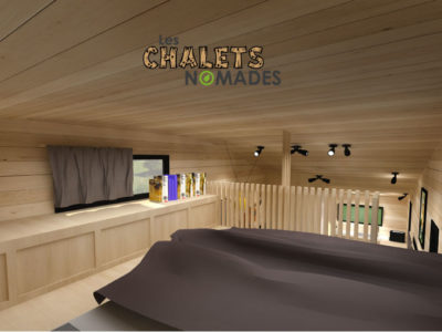 Tiny House La Quatuor : Chambre