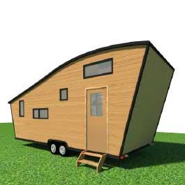 modèle ou plan de tiny house : La Quatuor - Les chalets nomades, constructeur francais de tiny houses en France