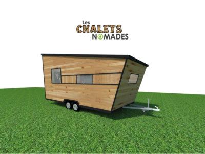 Tiny House Atelier / Bureau : vue exterieure v1