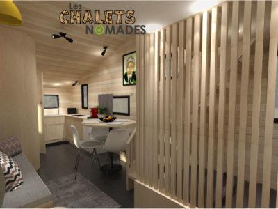 La Tiny House La Quatuor : Salon