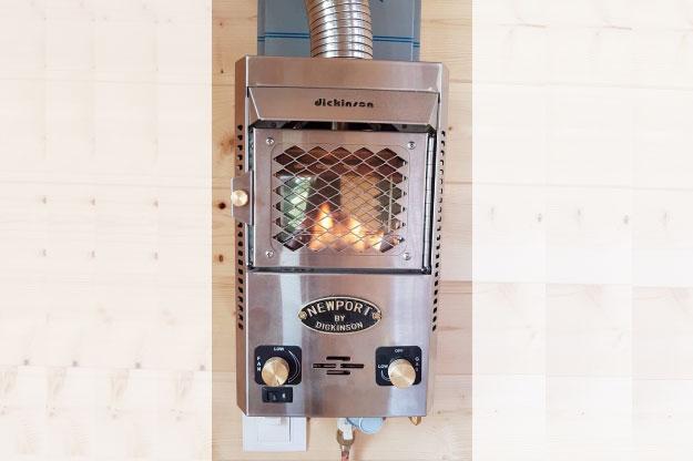 Types de Chauffage d'une Tiny House : poêle à bois, poêle à gaz, poêle a granulés, convecteurs électriques, etc.